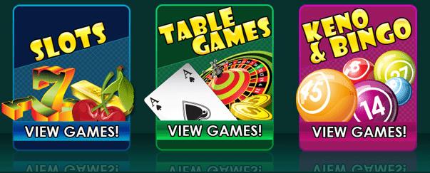 Play all the popular RTG (RealTime Gaming) games at Loco Panda Casino