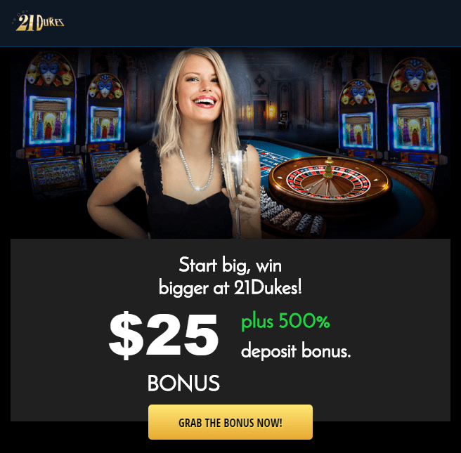Win big 21 casino review