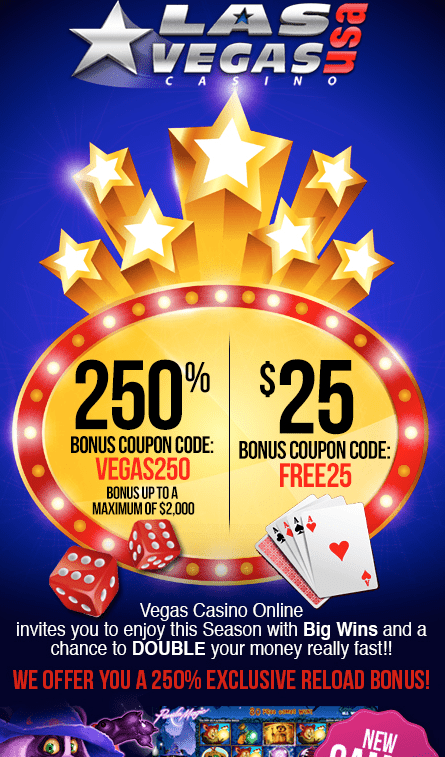 free bonus on sign up casino