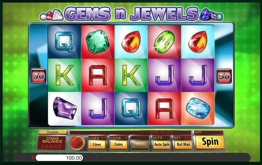 Gems N Jewels Saucify 5reels Video Slot