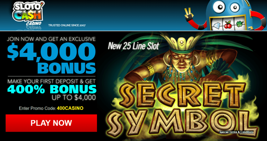400 first deposit bonus casino