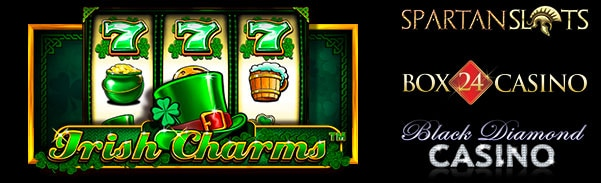 Spartan Slots Box24 Casino Black Diamond Casino Irish Charms