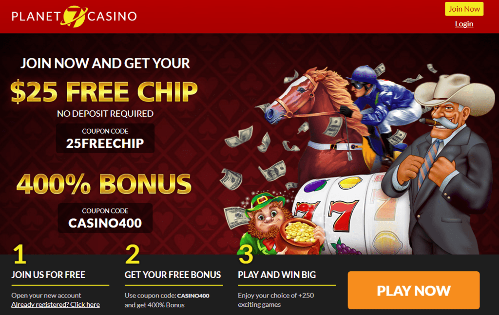online casino free money no deposit usa