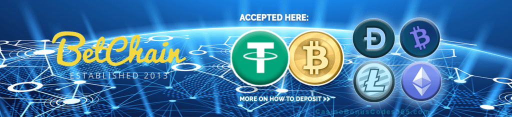 Betchain Cryptocurrency Accepted