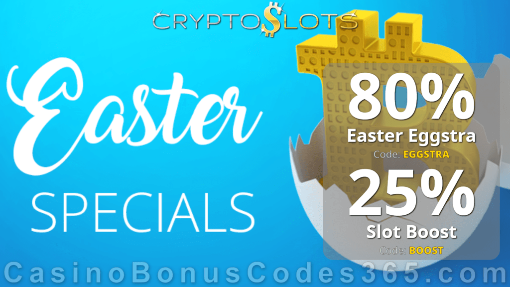 CryptoSlots Happy Easter Special Offers