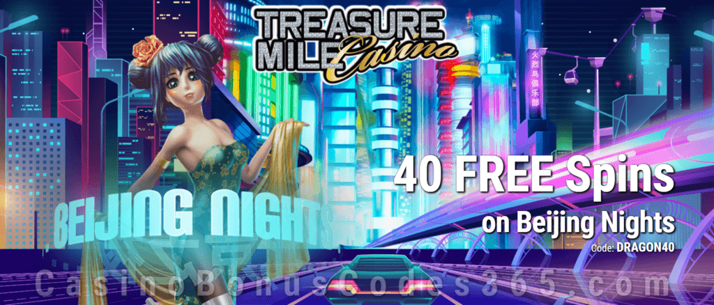 Lucky Creek 40 FREE Saucify Beijing Nights Spins Exclusive Deal