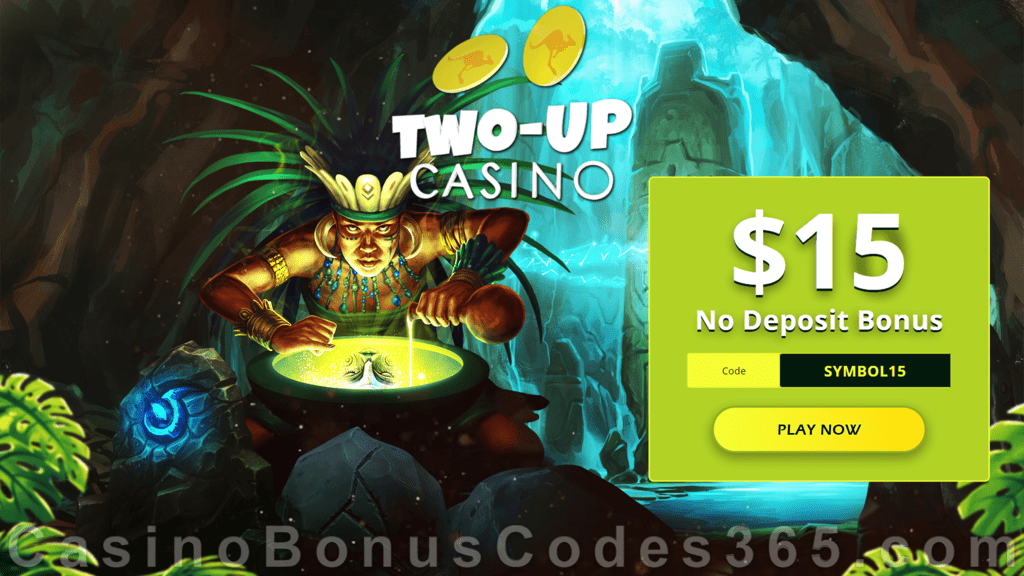 Two-up Casino $15 FREE Chip Special Promo