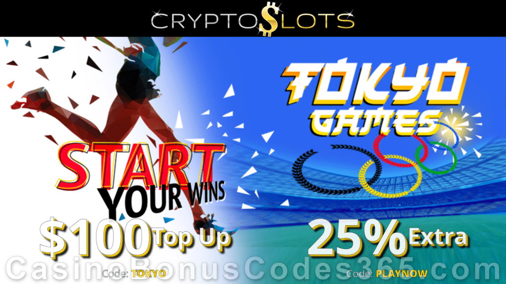 CryptoSlots Tokyo Games New Game Special Deal